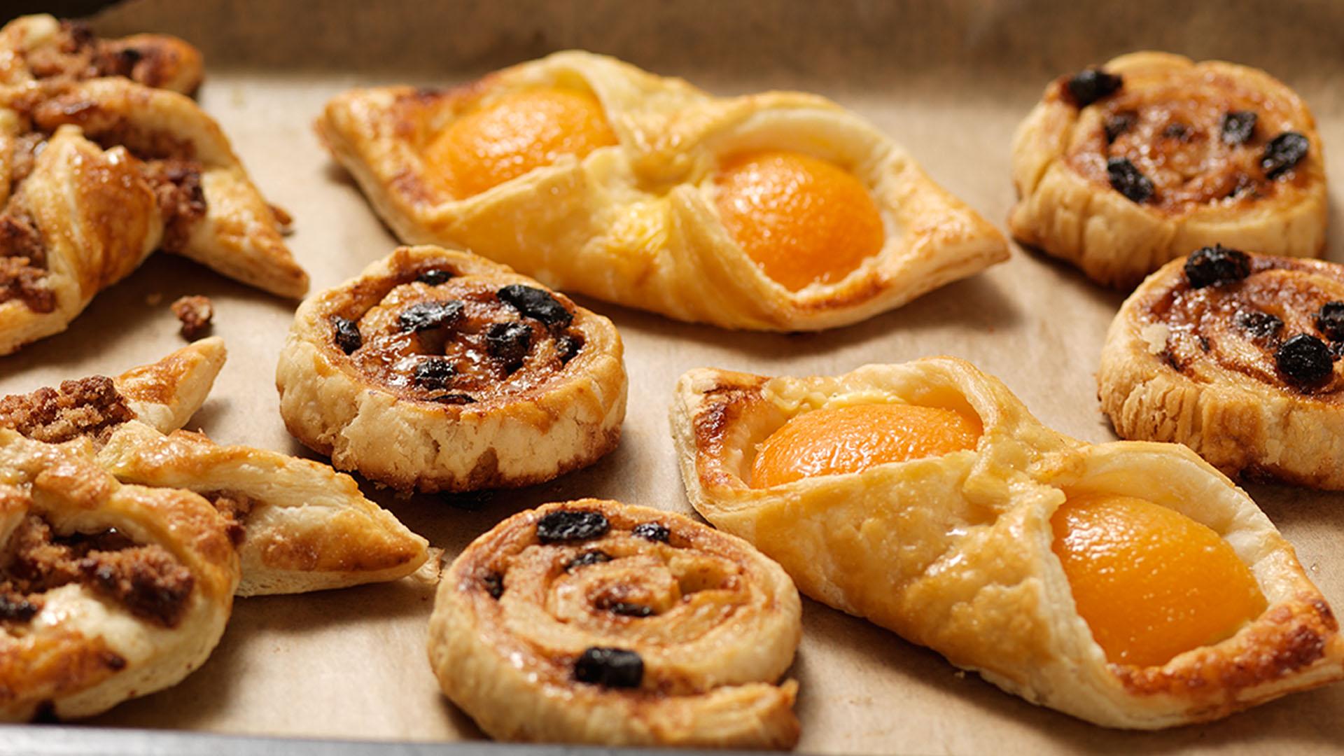 Apricot Custard Danish Pastry | Recipes | Genius Gluten Free