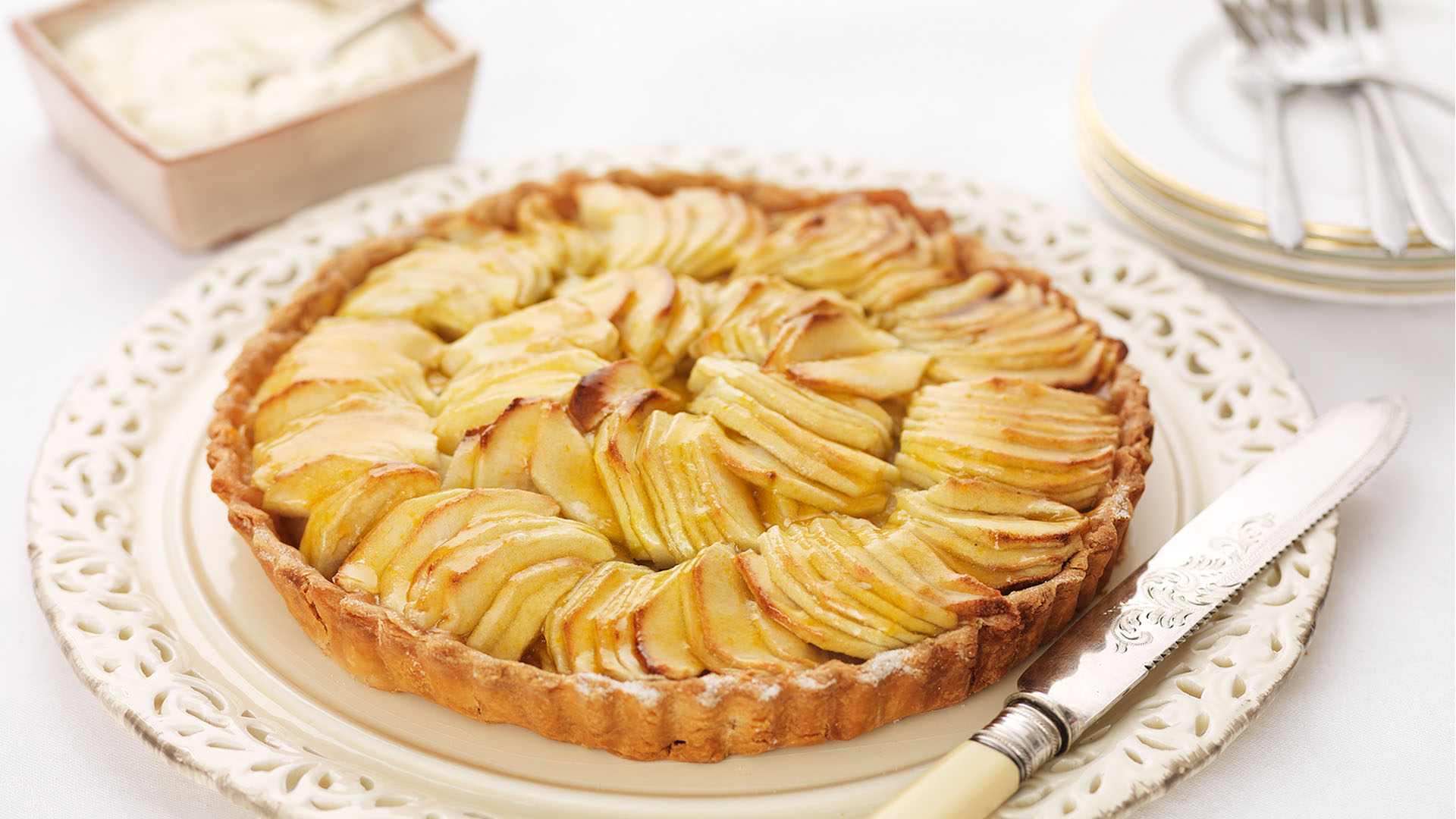 Gluten Free French Apple Tart Gluten Free Dessert Recipes