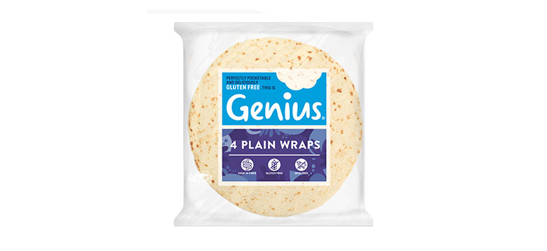 Ready-Made Gluten Free Plain White Wraps - Where to Buy