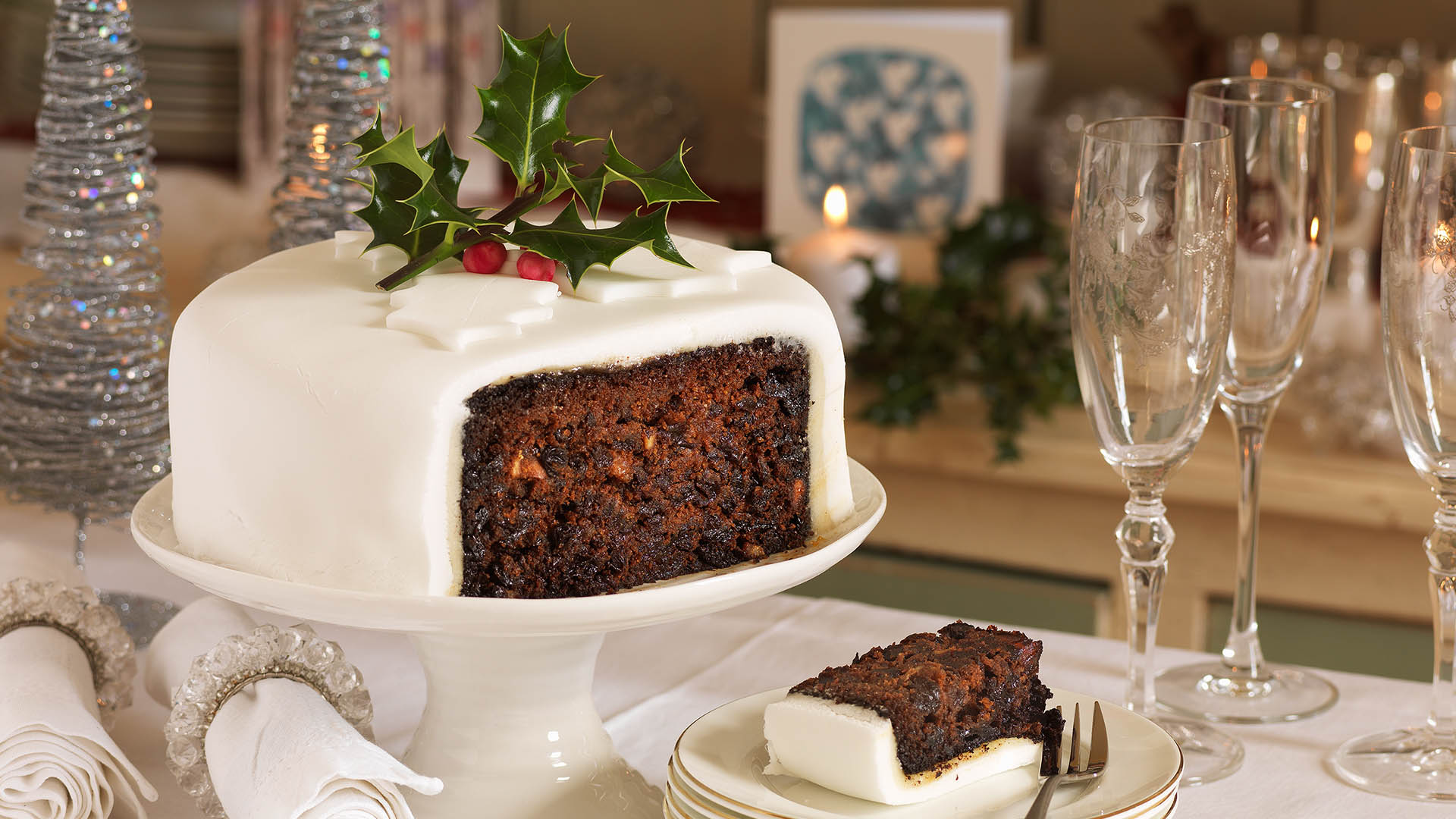 christmas cakes images hd