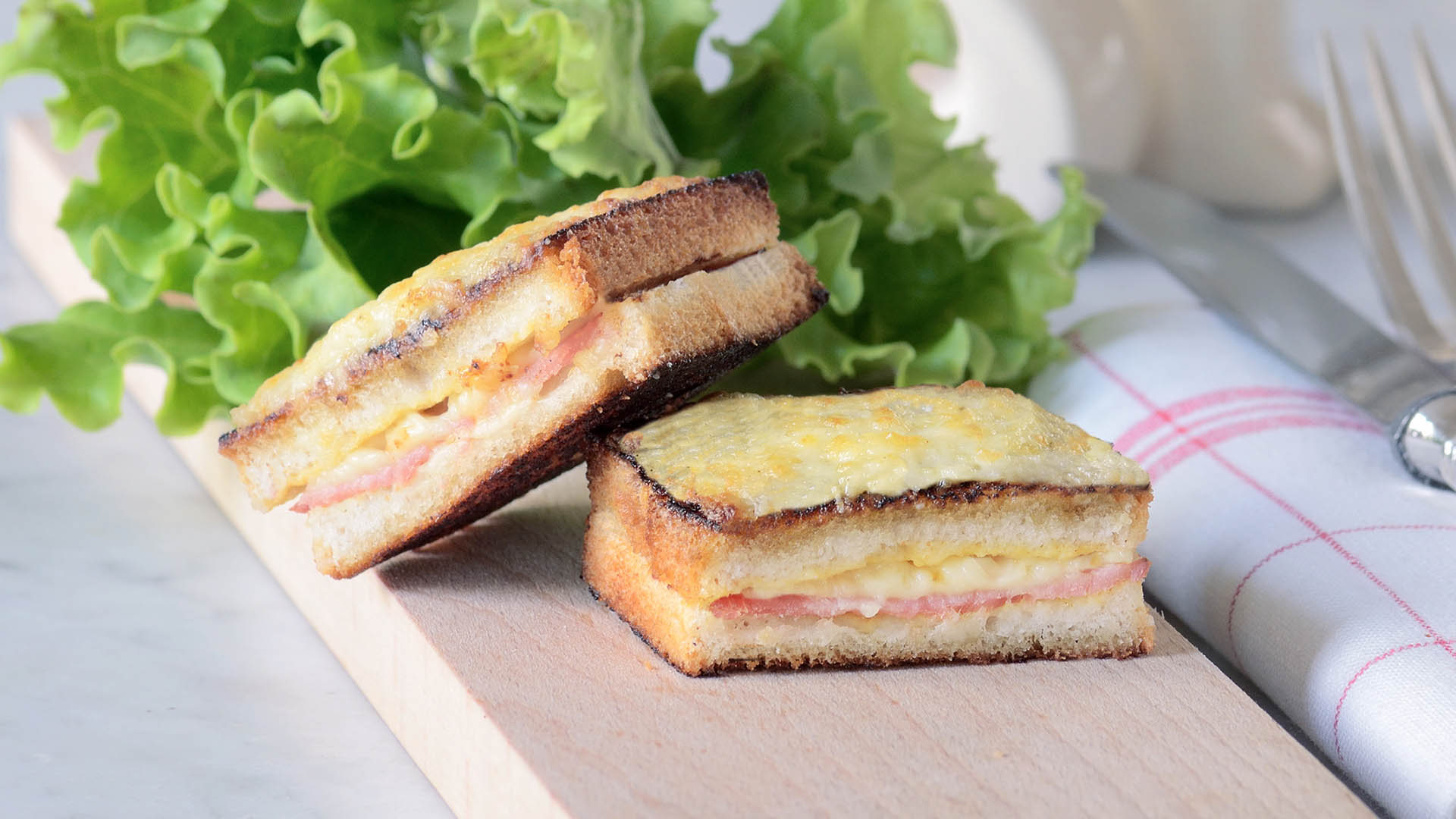 Croque-Monsieur | Recettes | Genius Gluten Free